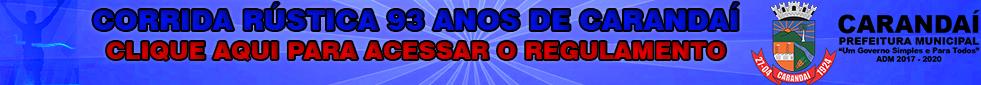 CORRIDA RÚSTICA 93 ANOS DE CARANDAÍ