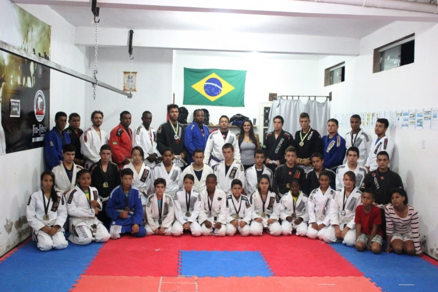 Carandaí volta a brilhar no campeonato de Jiu-Jitsu