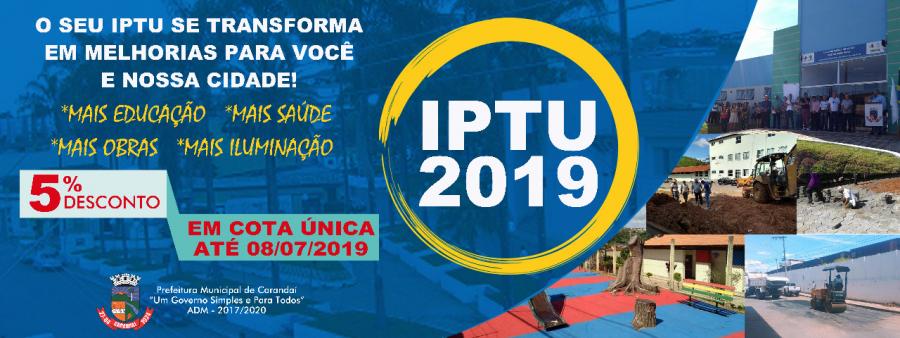 COMUNICADO IMPORTANTE- IPTU