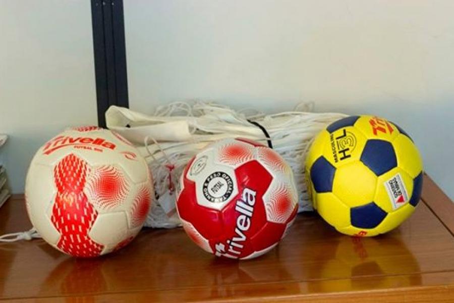 Município doa materiais esportivos a Associação do Campestre