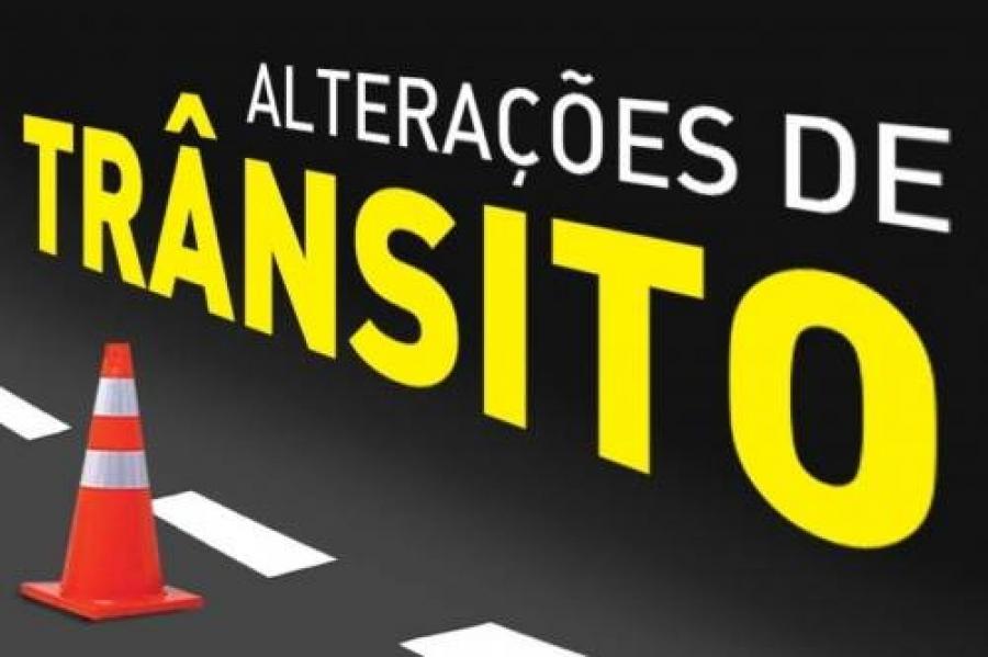 ATENÇÃO: MUDANÇA NO TRÂNSITO--- FESTIVIDADES DE RÉVEILLON 2019