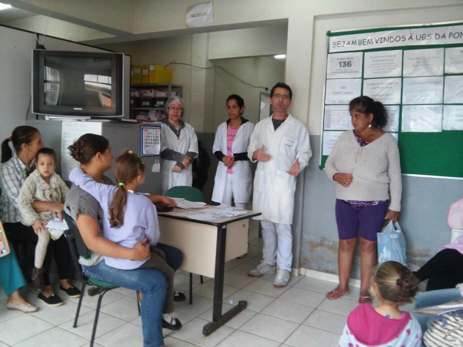"""""""Estreitamento de vínculos entre a Saúde e População""""."""