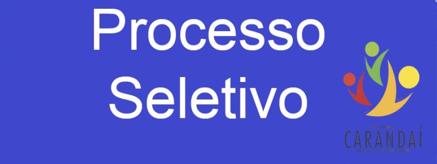 Resultado das Inscrições do Processo Seletivo