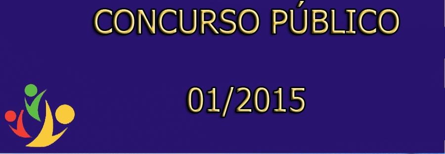 Concurso Público Nº001/2015