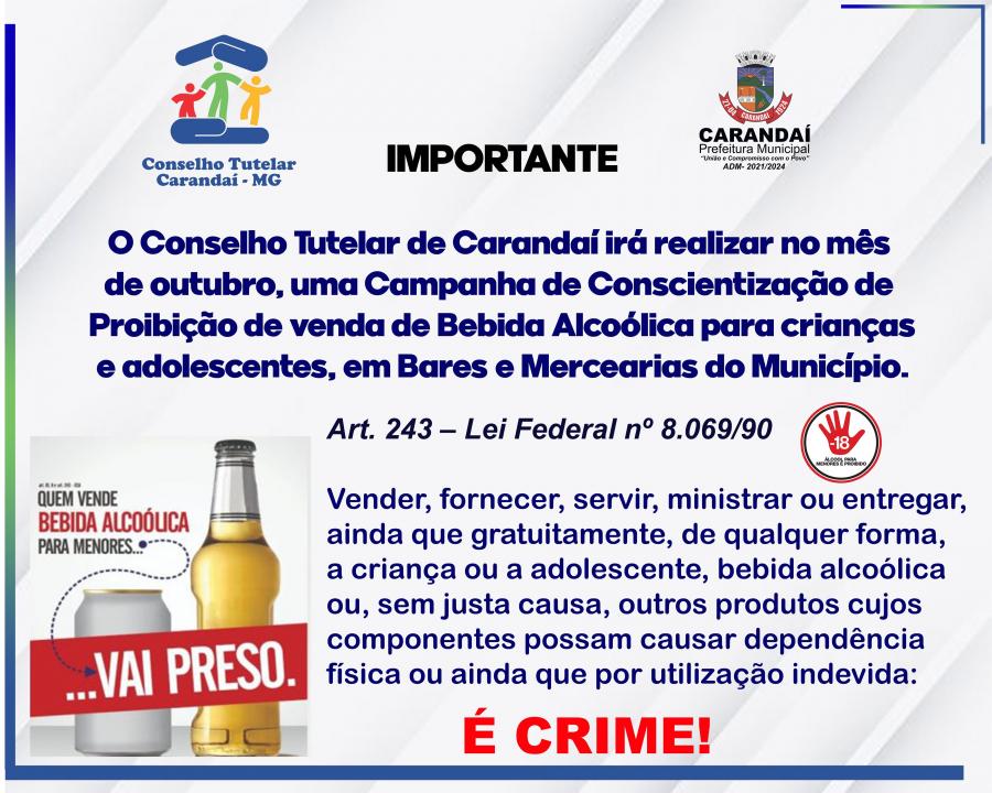 COMUNICADO DO CONSELHO TUTELAR