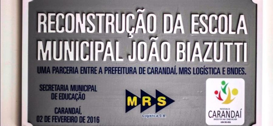 """""""Nova Escola Municipal do Acampamento é inaugurada""""."""