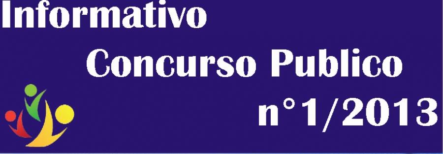 6ª Chamada de convocação do Concurso Público Edital 01-2013