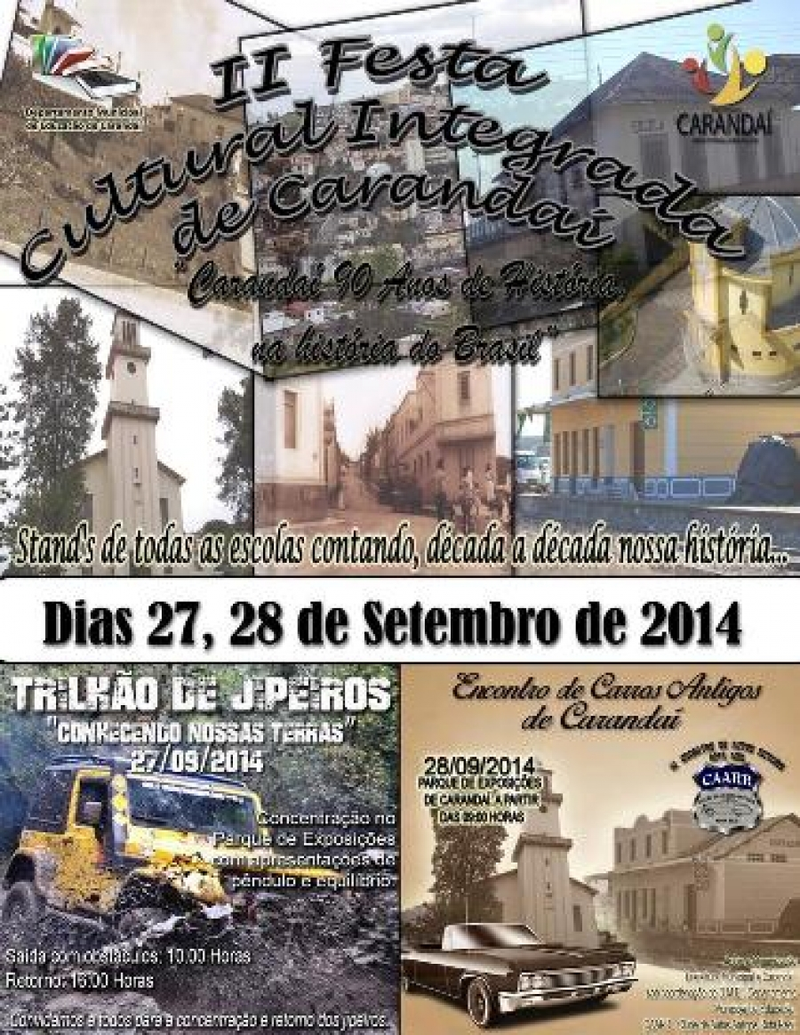 II Festa Cultural Integrada de Carandaí.