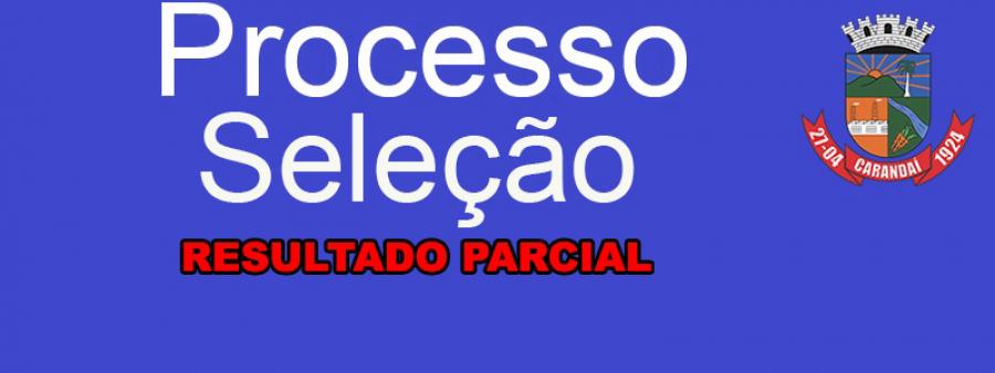 Resultado Parcial Processo Seletivo 005 e 006/2019