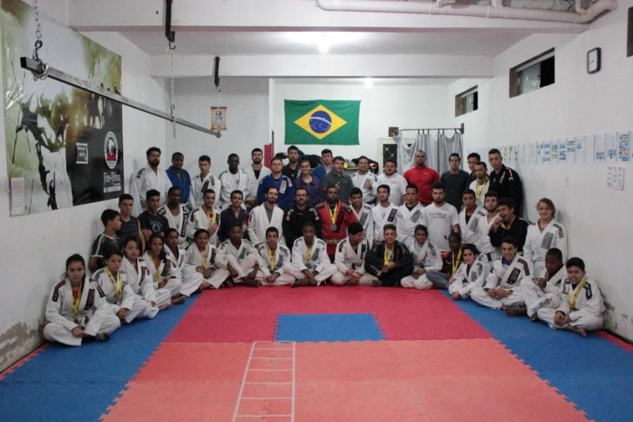 Carandaí brilha no campeonato de Jiu-Jitsu