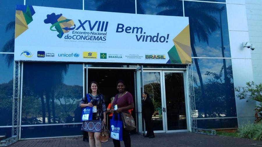 Carandaí participa do XVIII Congemas em Brasília