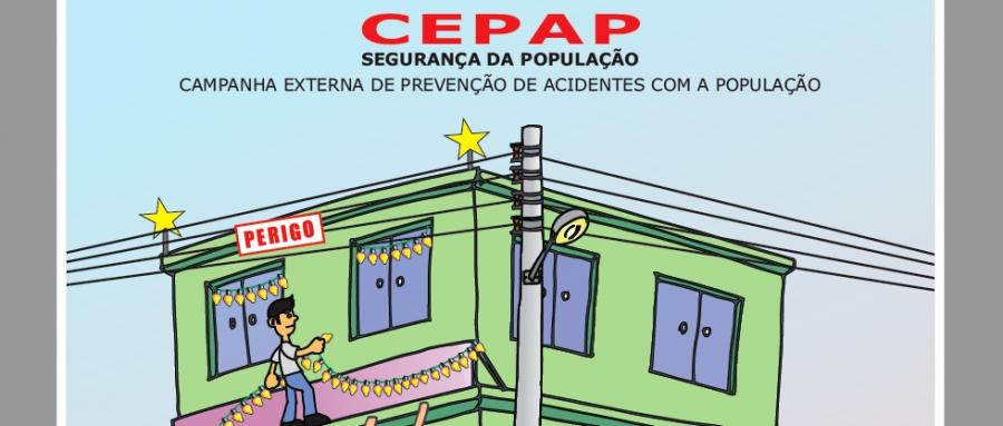 Evite acidentes de natureza elétrica!