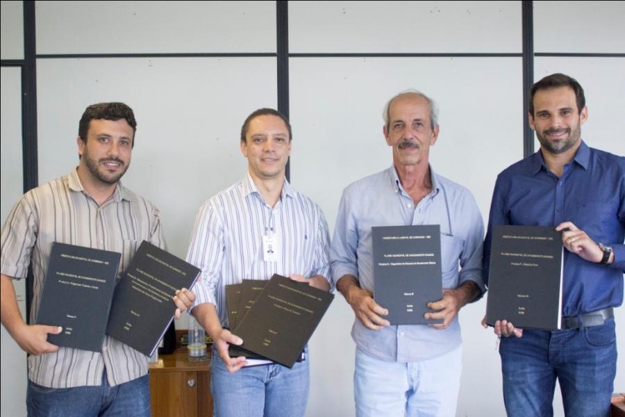 """Carandaí finaliza elaboração """"Plano Municipal de Saneamento Básico"""""""
