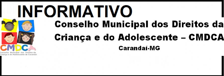 COMUNICADO CMDCA